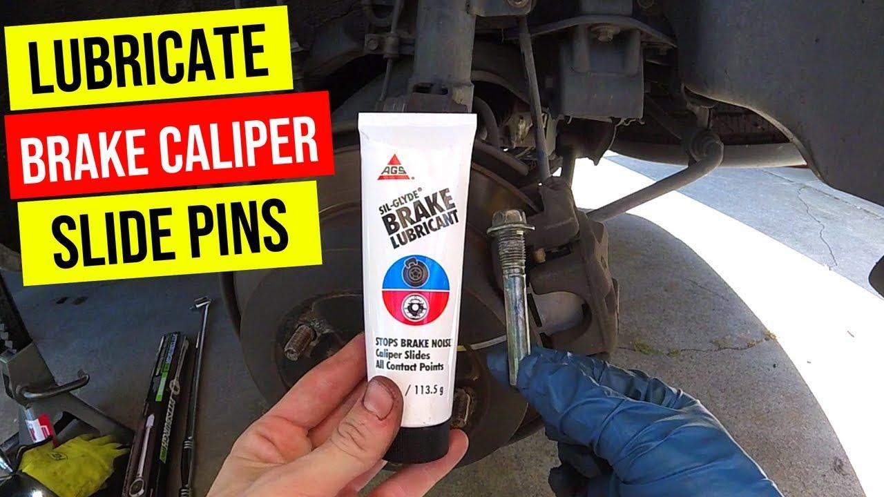 How To Properly Lubricate Brake Caliper Slide Pins -Jonny DIY