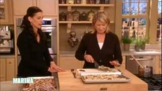 Martha Stewart Makes Peppermint Crunch With Ghirardelli Chocolate