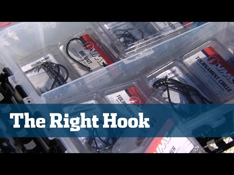 Florida Sport Fishing TV - Pro's Tip Pick The Perfect Hook Inshore Offshore Tackle