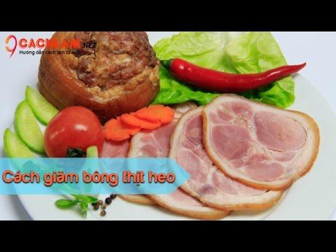 Cách làm jambon thịt heo thơm ngon hấp dẫn - Cách làm từ A đến Z