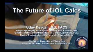 The Future of IOL Calcs in Cataract Surgery: PLUS method of machine learning