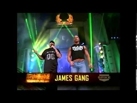 Team 3D and The James Gang In Ring Confrontation