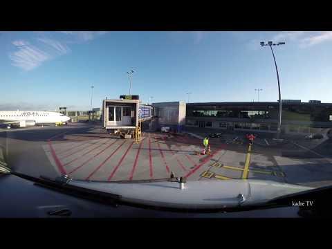 Riga airport, Latvia. Approach and Landing at Riga Airport!