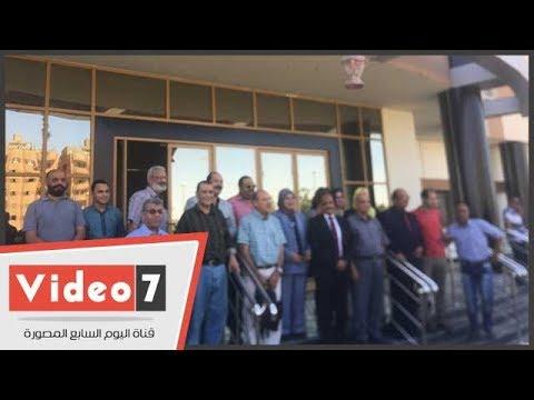 انطلاق ملتقي سلسبيل النيل  للفنون التشكيلية بمشروع قناطر أسيوط الجديدة  - 19:22-2018 / 6 / 20