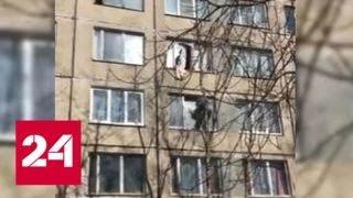 Мигрант сбежал от похитителей через окно четвертого этажа - Россия 24