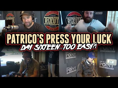 Patrico's Press Your Luck Day 16: Softball or right in the pocket? [Rizzuto Show]