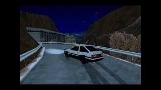 Gta Sa AE86 Trueno Irohazaka Downhill Drifting