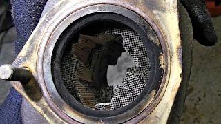 видео Ремонт и замена катализаторов Ford Focus 2, (1.6, 100 л.с.) на пламегаситель