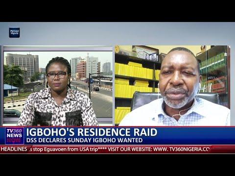 Lawyer speaks on DSS raid of Sunday Igboho's house