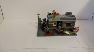Лего самоделка на тему зомби апокалипсис 27 вылазка в магазин