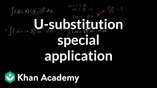 U-substitution and back substitution