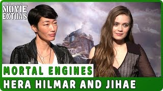MORTAL ENGINES | Hera Hilmar and Jihae talk about their experience making the movie