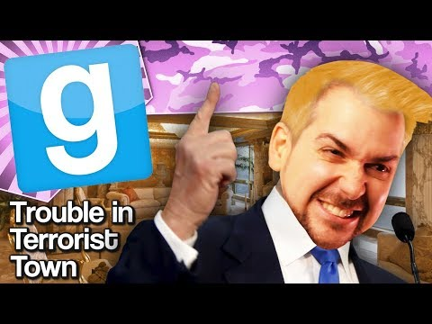 INSIDE TRUMP TOWER | Gmod TTT
