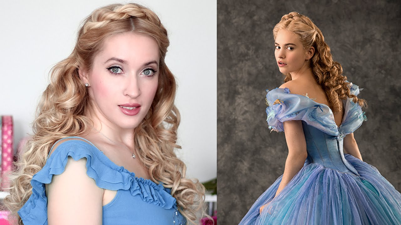 cinderella hair tutorial christmas