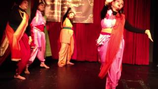 Dance Performance - Ekla Cholo Re - Sonu Nigam version