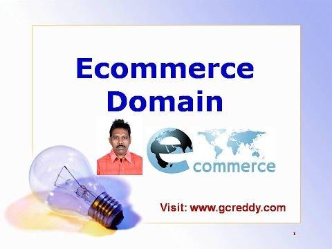 Ecommerce Domain Knowledge Youtube