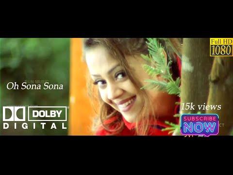 Oh Sona Sona { vaali }  Tamil True  Dolby Digital 5.1  1080p HD Video Songs
