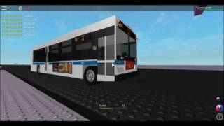(ROBLOX) MTA NYCT Bus: 2009 Orion VII Next Gen Hybrid #4421 On the Bx7