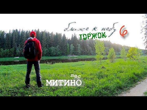 DJI Mavic Air / Торжок с высоты / Лес Митино / Forest Mitino