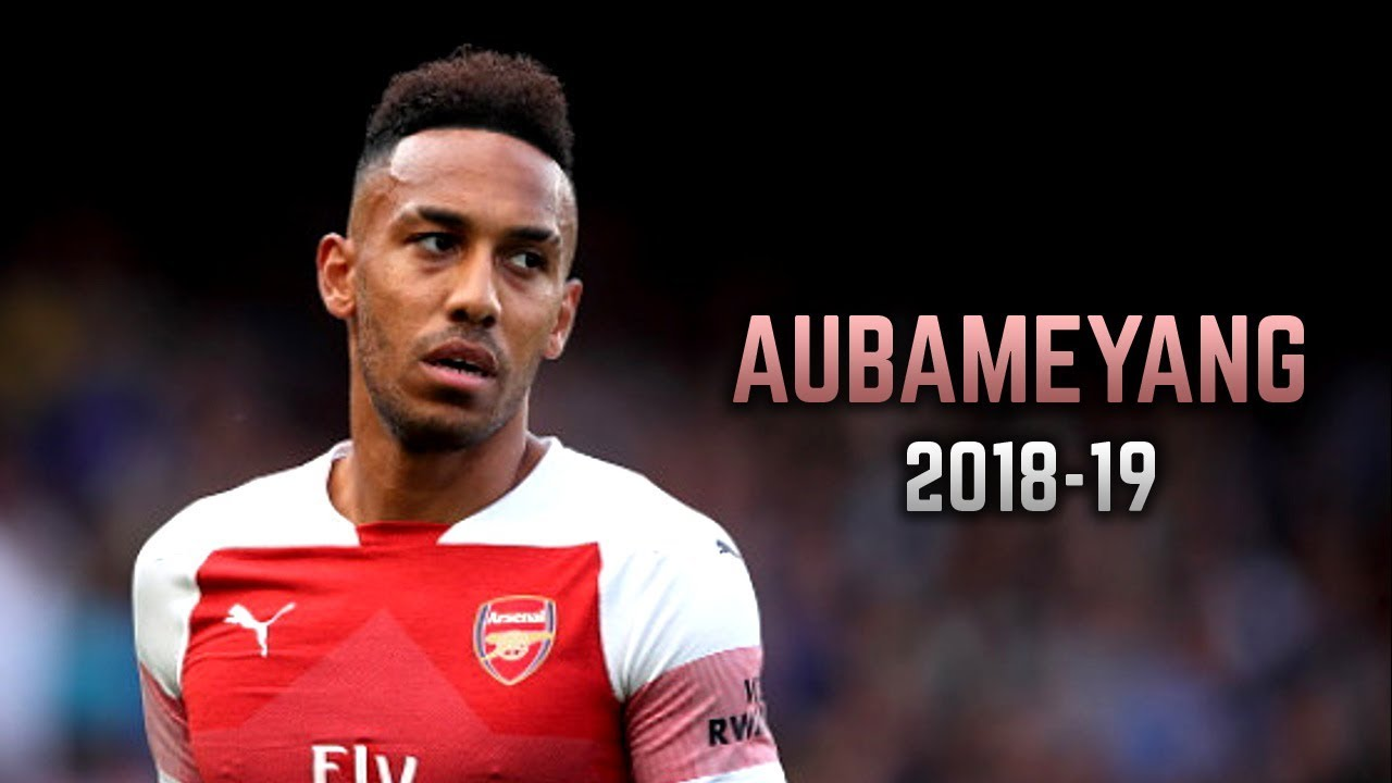 Pierre Emerick Aubameyang 2018 19 Goals Dribbling