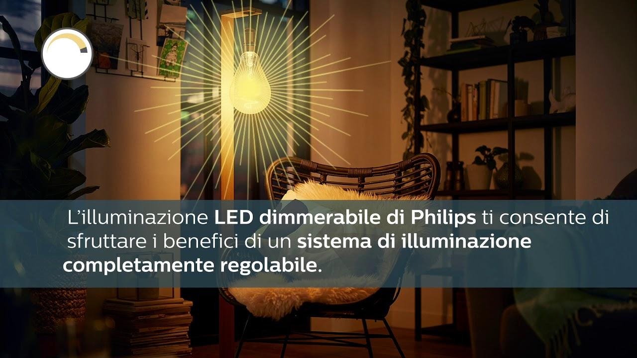 Sistemi Di Illuminazione A Led dimmerabilità: scopri le caratteristiche dei led eye comfort di philips