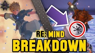 DARK FORM, DATA BATTLES, TERRA V TERRA | Trailer Breakdown - KH3 Re: Mind
