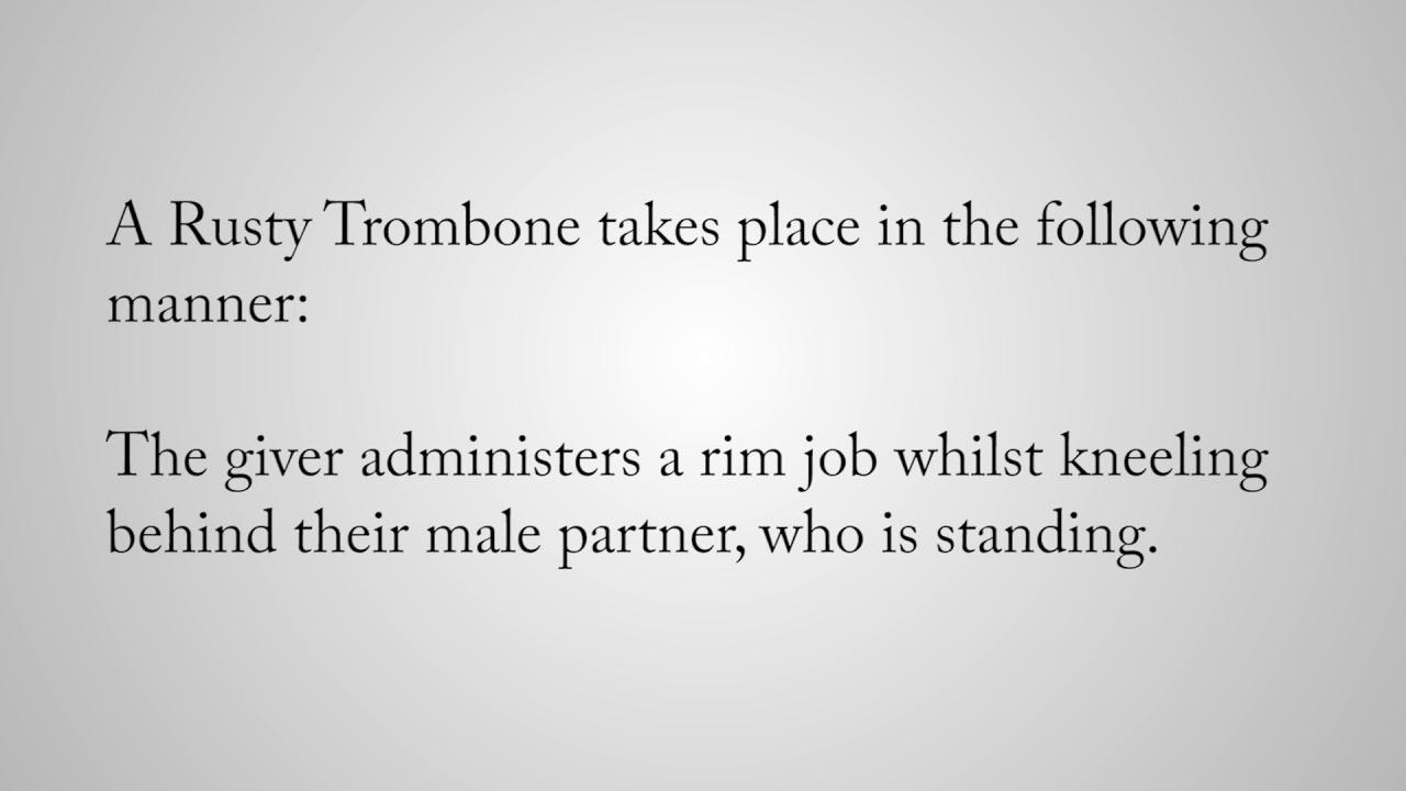 Sex slang trombone