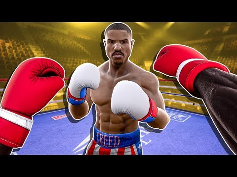 Apollo Creed Fought Adonis Creed And This Happened - Creed Rise To Glory VR Rocky Legends DLC 👊