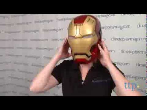 marvel iron man 3 mark 42 adult helmet from disguise youtube