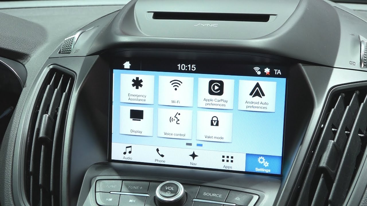 ford sync 3 d barque en europe avec le nouveau kuga youtube. Black Bedroom Furniture Sets. Home Design Ideas