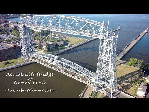 Duluth Minnesota Aerial Lift Bridge