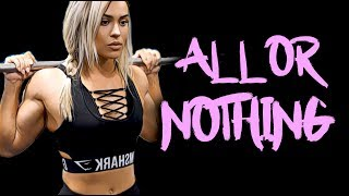 FEMALE FITNESS MOTIVATION - 100% OR NOTHING