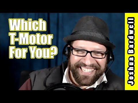 T-Motor F40, F60, F80 Comparison | INTERVIEW WITH RYAN HARRELL