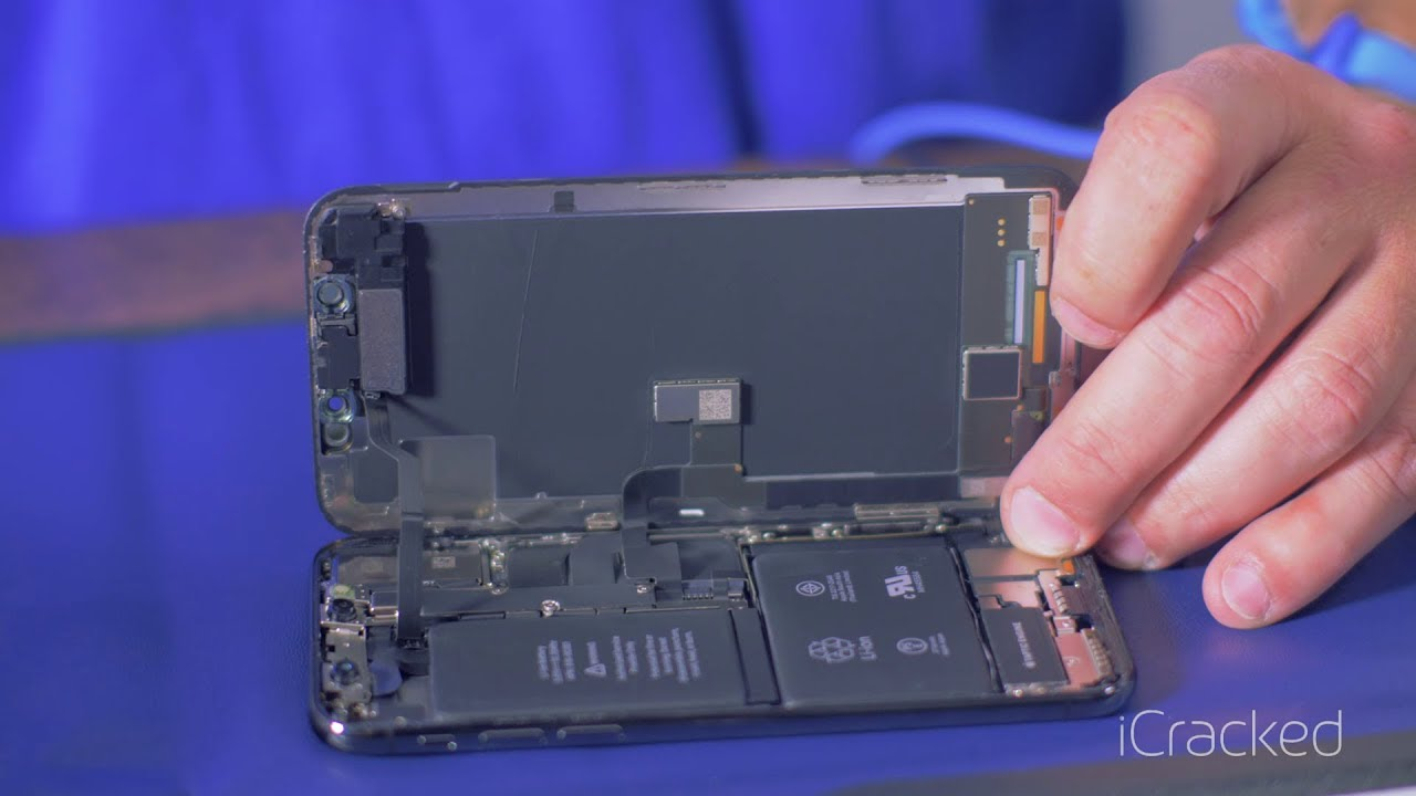 newest e3875 8841e iCracked iPhone X Teardown
