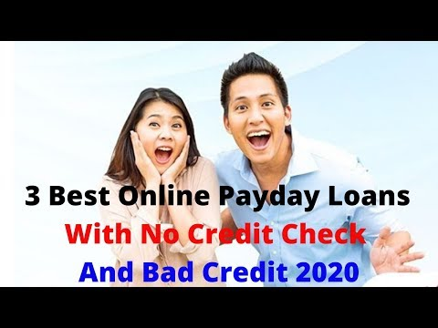 3 Best Online Payday Loans With No Credit Check And Bad Credit 2020. Best Loan Rates.