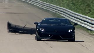 Lamborghini LP570 Twin Turbo (1500 HP) Total Race — Bad Day