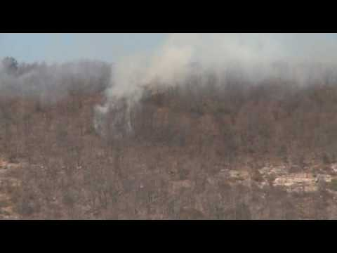 03.19.10 - Forest Fire, Appalachian Trail, Blue Mountain, Lehigh Twp. PA
