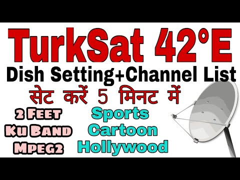 Turksat 42e dish setting and channel list| Lyngsat | Starsat| Turksat 42e frequency