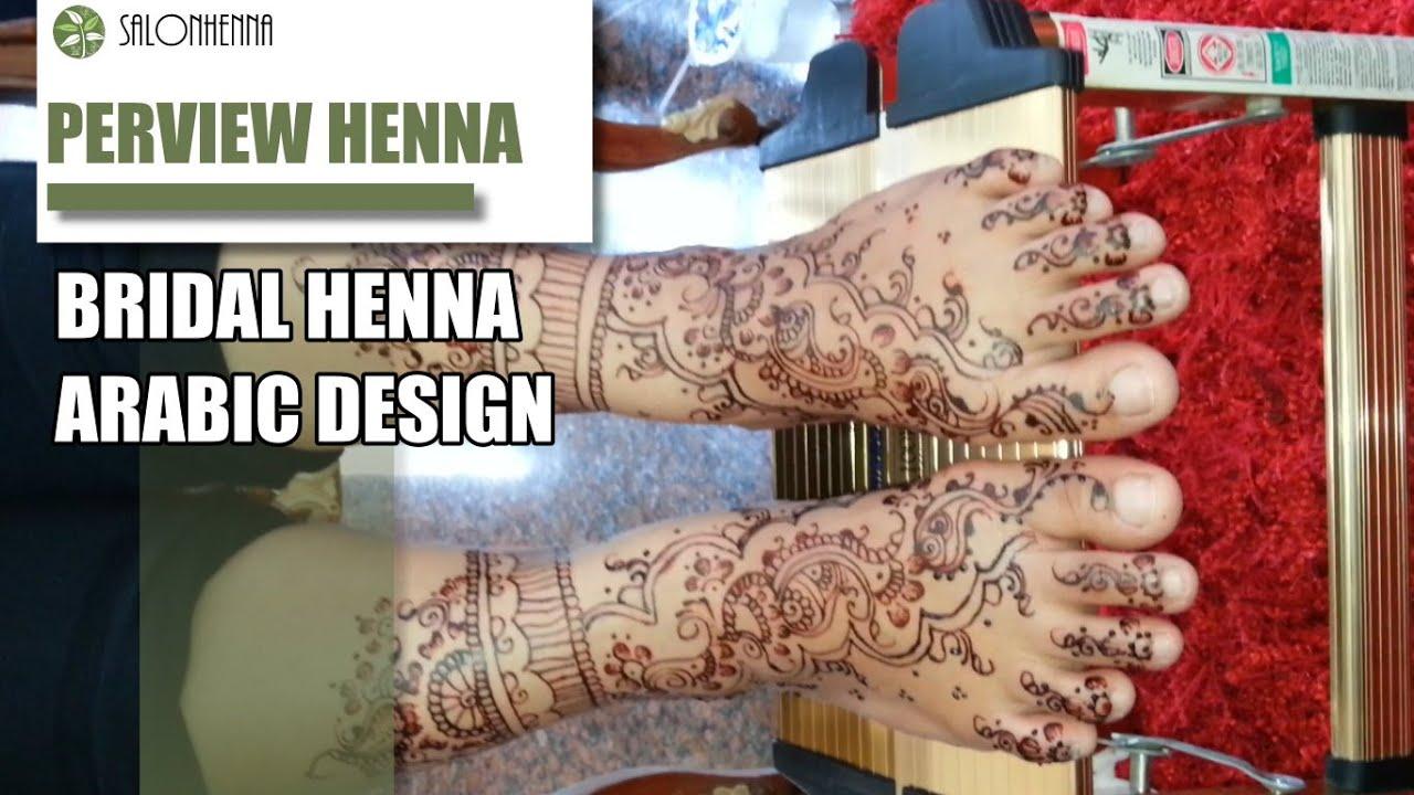 Contoh Henna Tangan Dan Kaki Disain Pengantin