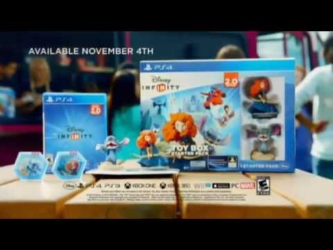 Disney Infinity 2 0 Toy Box Starter Pack 45sec Us Tv