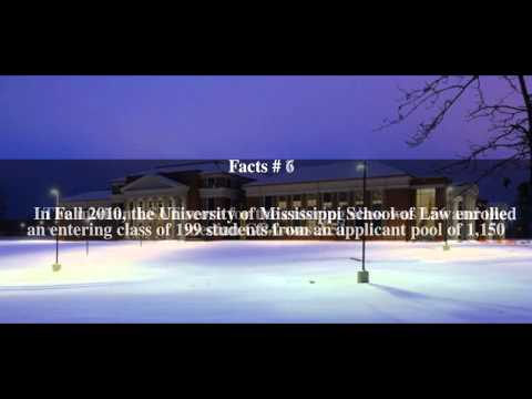 University of Mississippi School of Law Top # 10 Facts