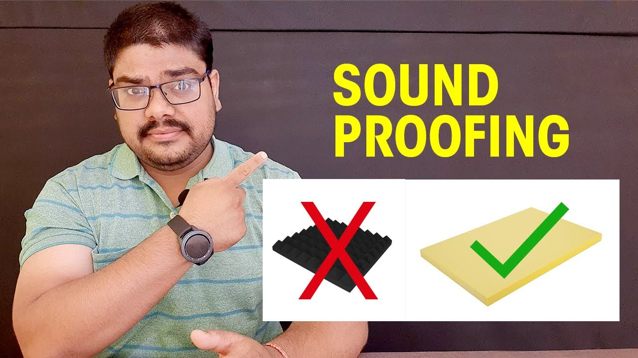 Best Way To Do Soundproofing Studio Room | Budget Soundproofing Foam Installation | HashTag India