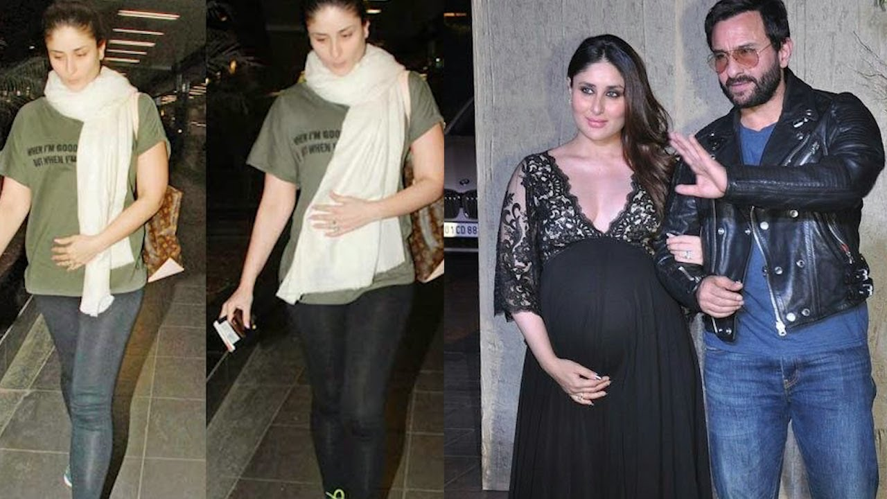 Kareena Kapoor & Saif Ali Khan Announced They Are Expecting 2nd Baby