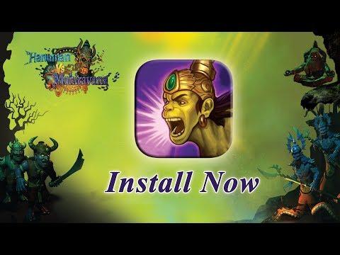 Hanuman Vs Mahiravana Game on Google Play | Download for FREE