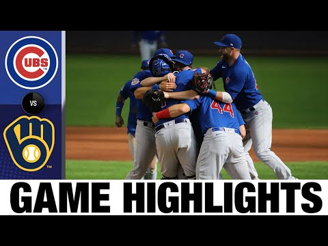 Alec Mills twirls a no-no vs. the Brewers   Cubs-Brewers Game Highlights 9/13/20