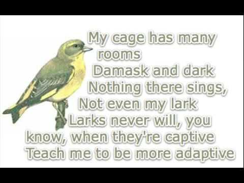 Green Finch and Linnet Bird - Sweeney Todd - Karaoke/Instrumental