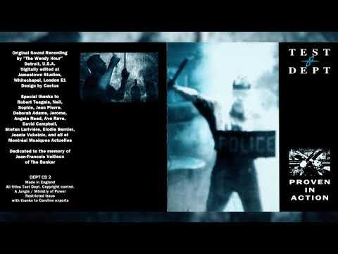 "TEST DEPT ""Proven in Action"" [Full Album]"