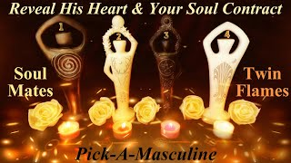 🔮💖Reveal His Heart & Your Soul Journey Together ~ Pick A ✨Masculine