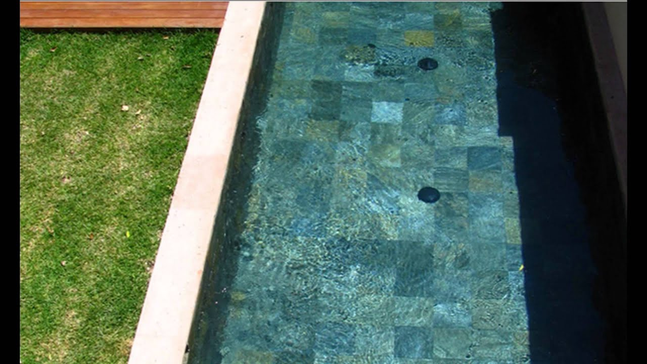 Acabados para piscinas piedra bali sukabumi youtube - Piedra natural para piscinas ...