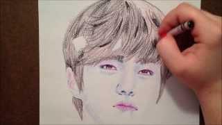 Drawing KPOP - INFINITE - Myungsoo - L